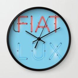 FIAT LUX Wall Clock