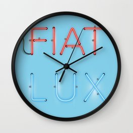 FIAT LUX Wall Clock