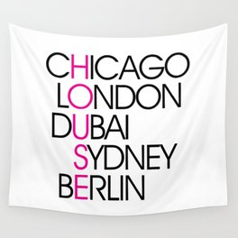 Worldwide House EDM Quote Wall Tapestry