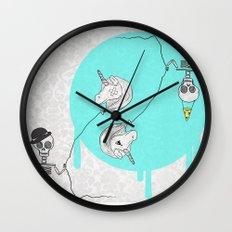 Skeletonia Wall Clock