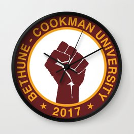 BETHUNE-COOKMAN CLASS OF 2017 Wall Clock