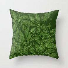 MAUA flowers 1 Throw Pillow