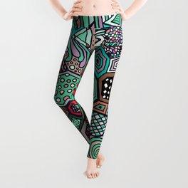 Jolly Geometric Leggings