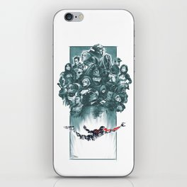 Falling Shepard iPhone Skin