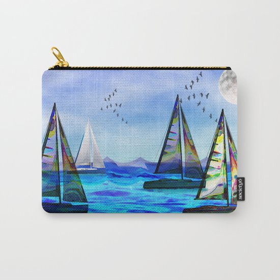 Beyond The Sea Carry-All Pouch
