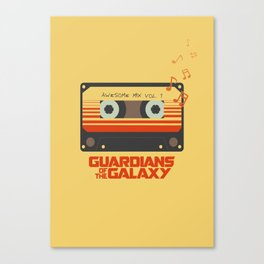 Awesome mix vol.1 Canvas Print