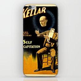 Kellar Self Decapitation iPhone Skin