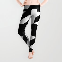 Big Houndstooth Pattern Leggings