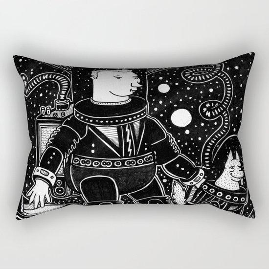 nostalgia espacial Rectangular Pillow