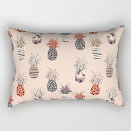 Funky Pineapple Pattern Again Rectangular Pillow