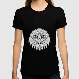 Australian Barking Owl Mandala T-shirt