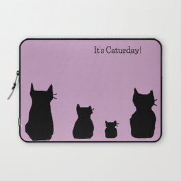 It's a cute Caturday ! Laptop Sleeve