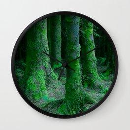 IRISH FOREST Wall Clock