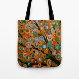 Fall Red Leaves Tree Tote Bag