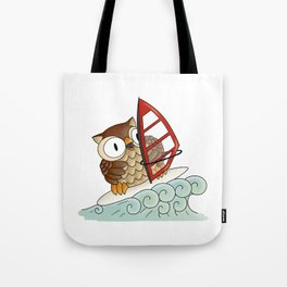 On the crest of a wave Tote Bag