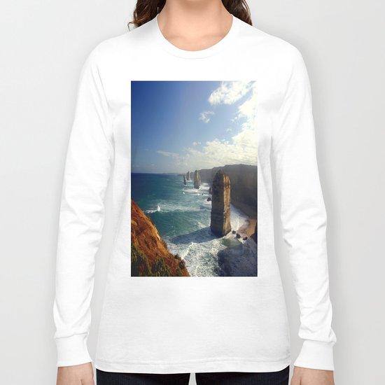 Rock Stacks & Gigantic Mainland Cliffs Long Sleeve T-shirt