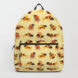 Bumblebee and fish Backpack