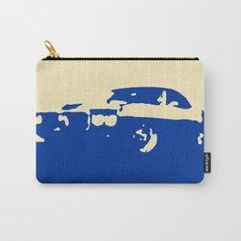 Pontiac Firebird, Blue on Cream Carry-All Pouch