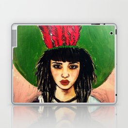 GIRL ALMIGHTY PAINTING Laptop & iPad Skin