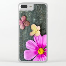 Flowers of Summer Clear iPhone Case