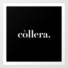 còllera. Art Print