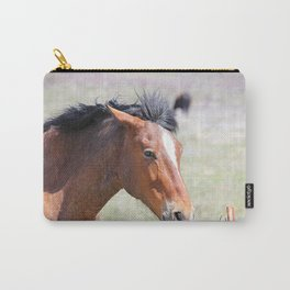 Horse Face Close Up Carry-All Pouch