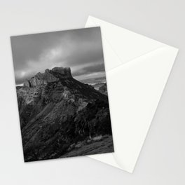 Top of Lost Mine Trail Mountaintop View, Big Bend - Landscape Photography Stationery Cards
