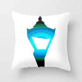 Concentric Lamppost  Throw Pillow
