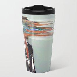 NO ONE AROUND HERE HAS THE GUTS Travel Mug
