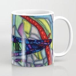 Owls Over The Stock Exchange Coffee Mug