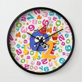Birthday Monsters 2nd Birthday Wall Clock