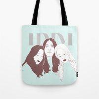 haim Tote Bags featuring HAIM by chazstity