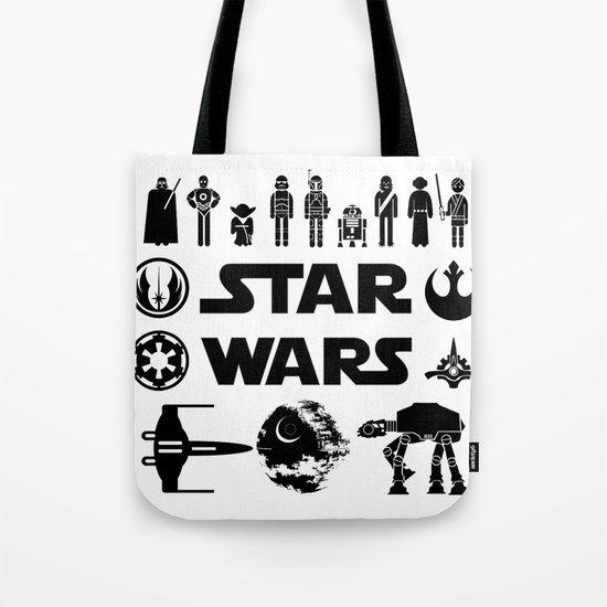Star Characters Wars Tote Bag