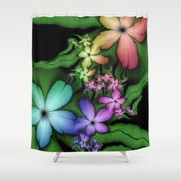 Fragile Beauty Tearing Apart Shower Curtain