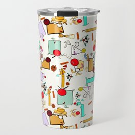 "Dialogue with the Dog - R01 - ""Friends"" Travel Mug"