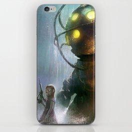 Mr Bubbles strolling  iPhone Skin