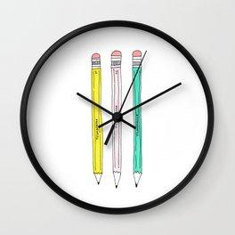 ticonderoga pencils Wall Clock
