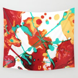 Paint Party 1 Abstract Wall Tapestry