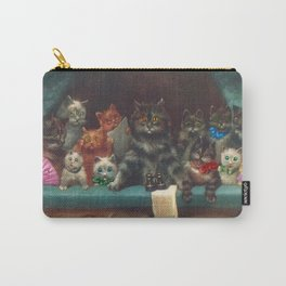 Cats & Kittens with Binoculars at the Theater Carry-All Pouch
