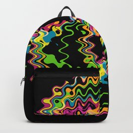 Funky splash Backpack