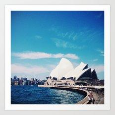 Sydney Sky Art Print