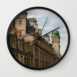 Sorbonne Paris Wall Clock