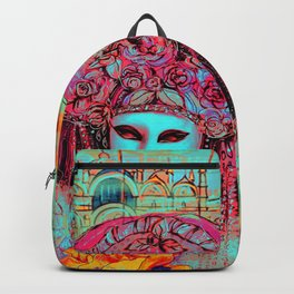 Turquoise Venice Backpack