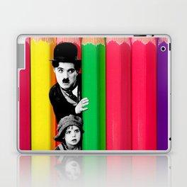 INTROSPENCIL / Pet Shop Boys - Introspective - The Kid Chaplin - Digital Illustration - Pop Art Laptop & iPad Skin