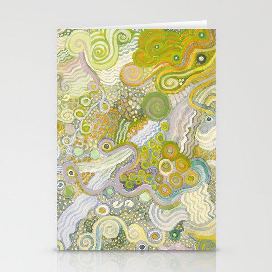 Peas and Noodles Stationery Cards