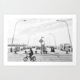 69th Street Pier Art Print
