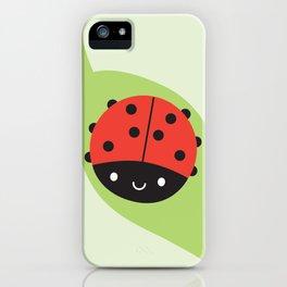 Kawaii Ladybird iPhone Case