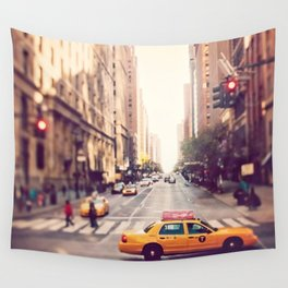 NYC Taxi Wall Tapestry
