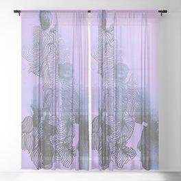 You Make Me Feel Sheer Curtain