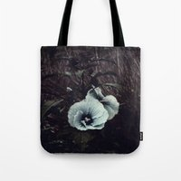 hibiscus Tote Bags featuring Hibiscus by KunstFabrik_StaticMovement Manu Jobst